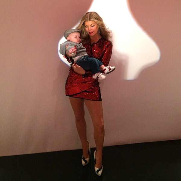 Fergie, Baby Axl, Instagram