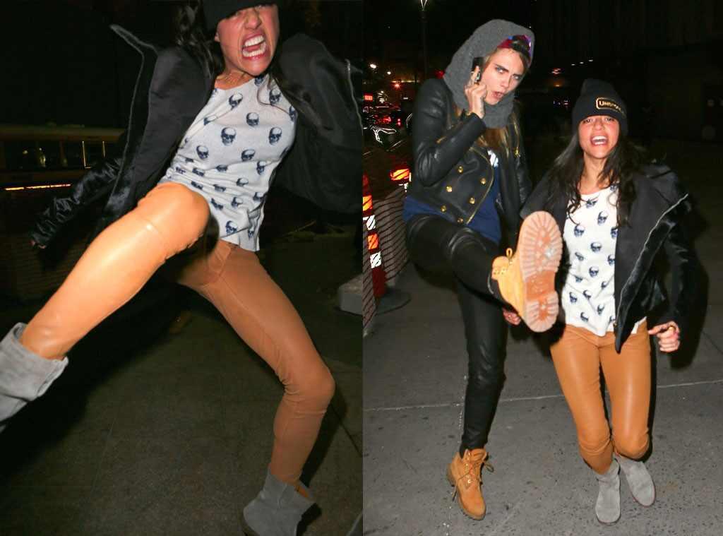 Cara Delevingne And Michelle Rodriguez Attending Coachella
