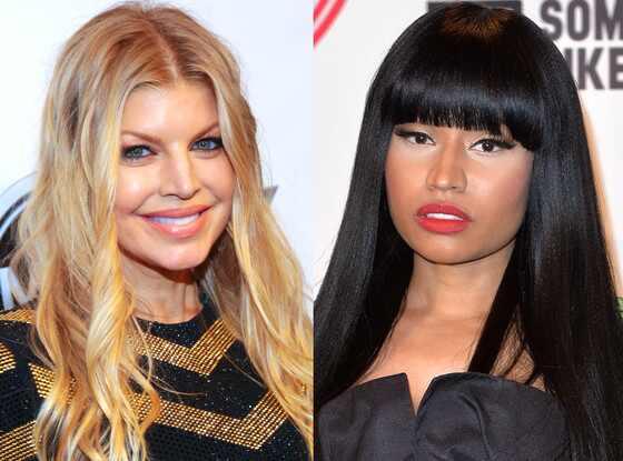 Fergie, Nicki Minaj