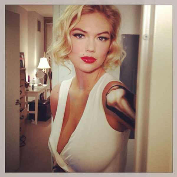 Kate Upton Cuts Her Hair A Few Inches Shorter Embraces