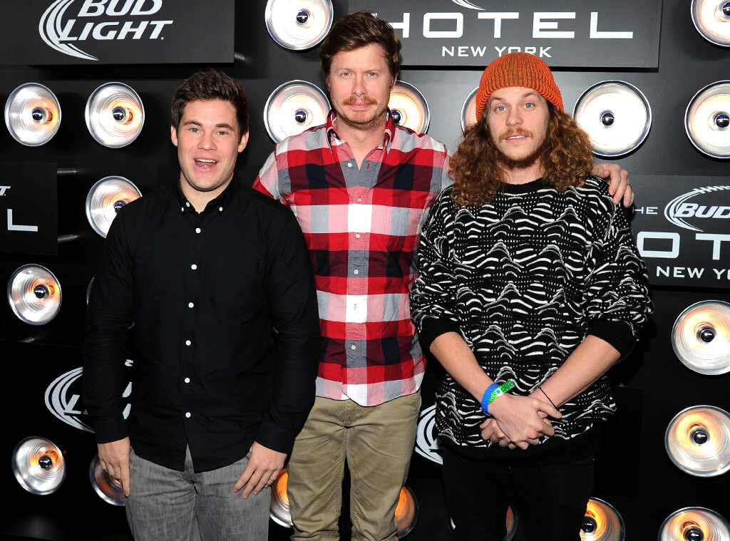 Adam DeVine, Anders Holm and Blake Anderson, Bud Light Hotel
