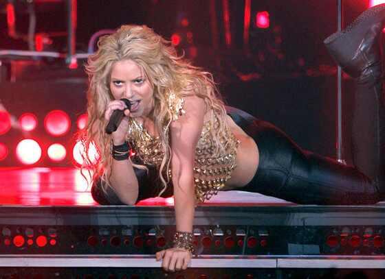 Shakira, cumpleaños 2014