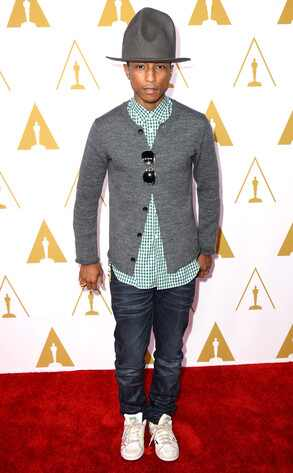 Pharrell Williams, Oscars Nominees Luncheon