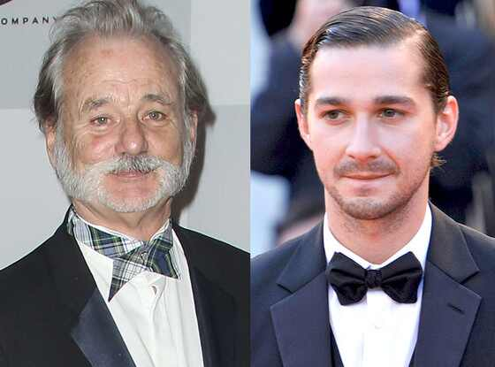 Bill Murray, Shia LaBeouf