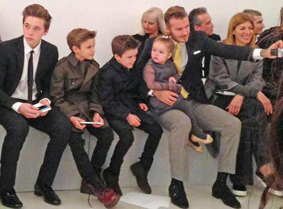 David Beckham, Family, Harper