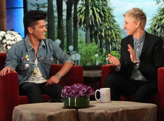 Bruno Mars, Ellen Degeneres Show
