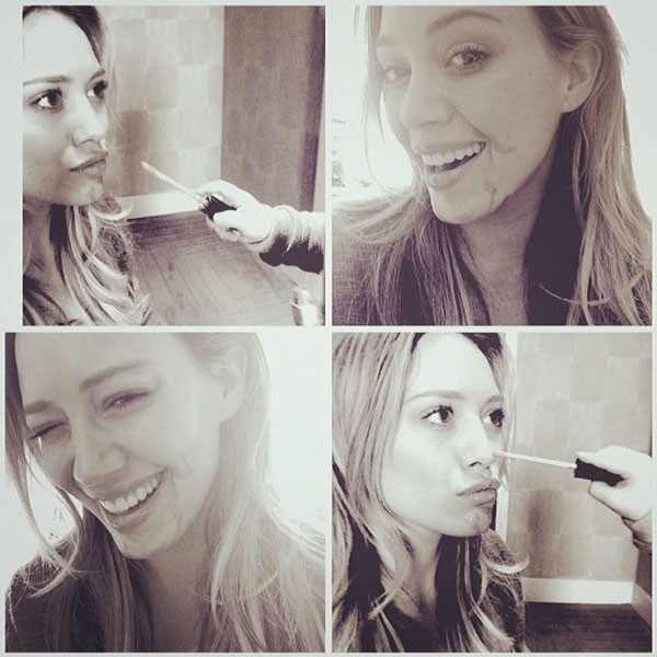 Luca Comrie, Hilary Duff Instagram