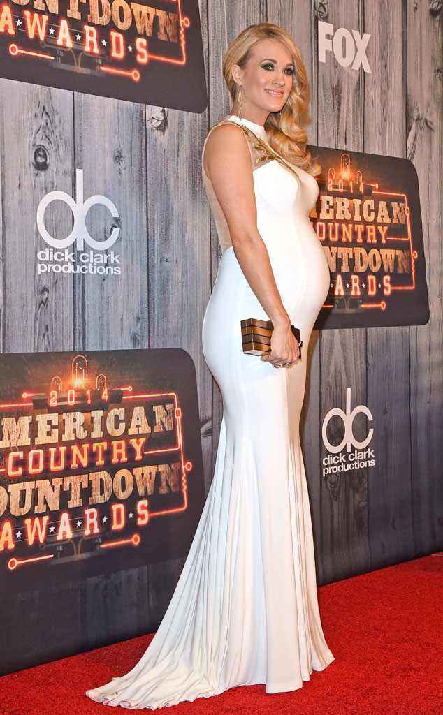 Pregnant Carrie Underwood Misses Her Slim Figure: ''I'm Looking Forward to Reclaiming My Body ...
