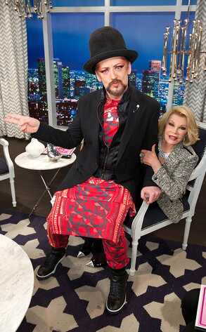 Boy George, Joan Rivers
