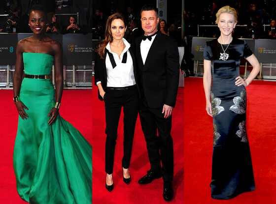 Angelina Jolie and Brad Pitt, Cate Blanchett, Lupita Nyong
