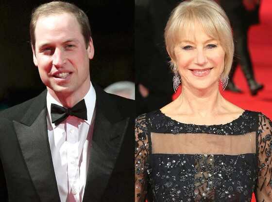 Prince William, Helen Mirren