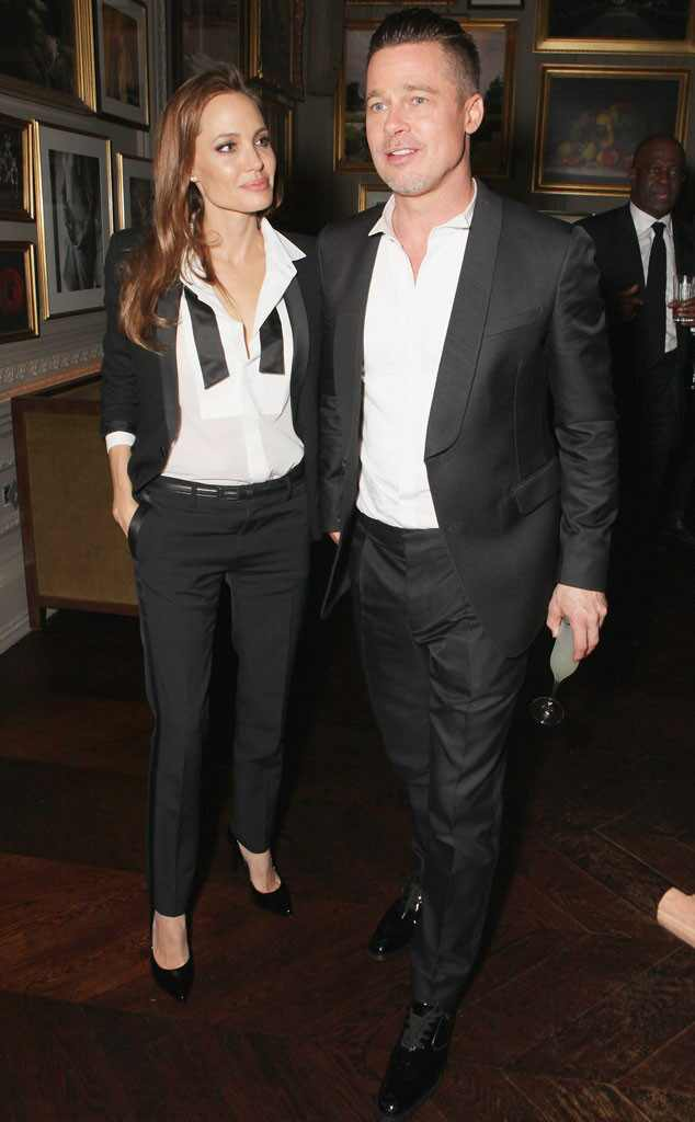 Angelina Jolie and Brad Pitt Joining Forces for New Movie ... Brad Pitt And Angelina Jolie