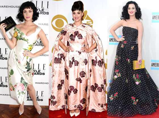 Katy Perry, Floral Prints
