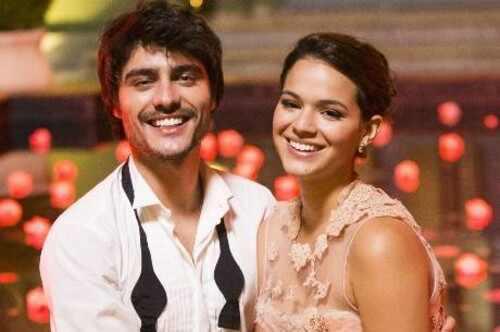 Bruna Marquezine e Guilherme Leicam