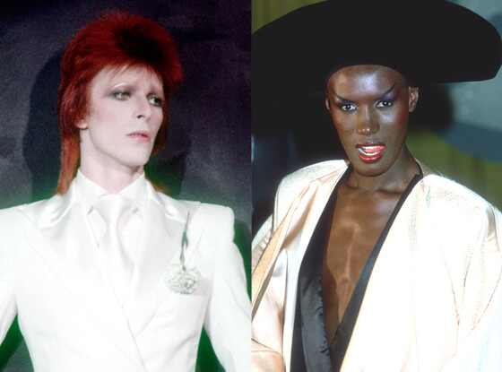 David Bowie, Grace Jones