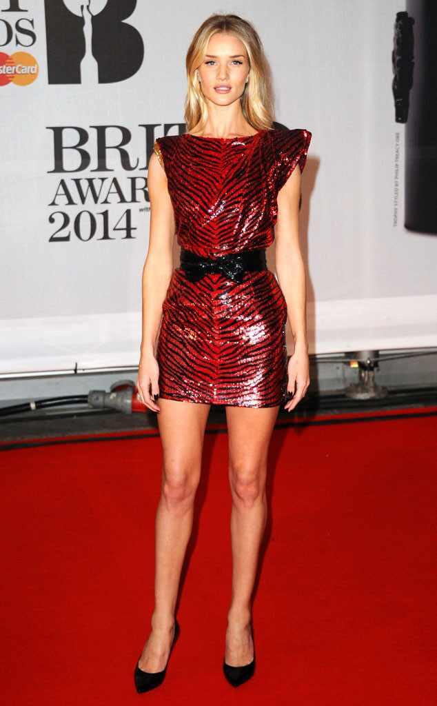 Brit Awards, Rosie Huntington-Whiteley