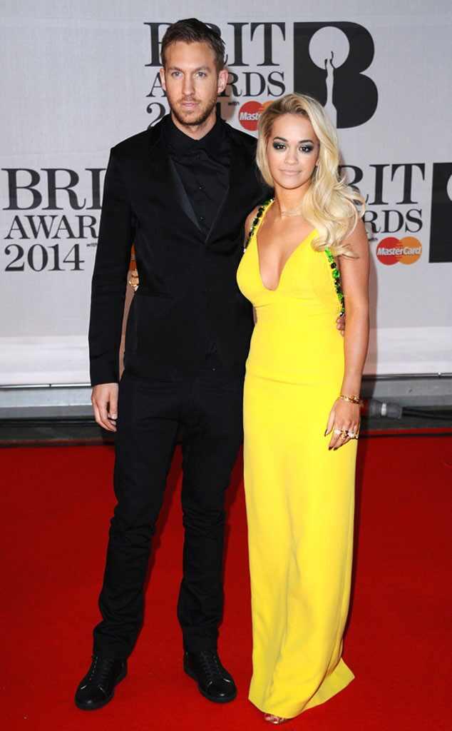 Brit Awards, Rita Ora, Calvin Harris