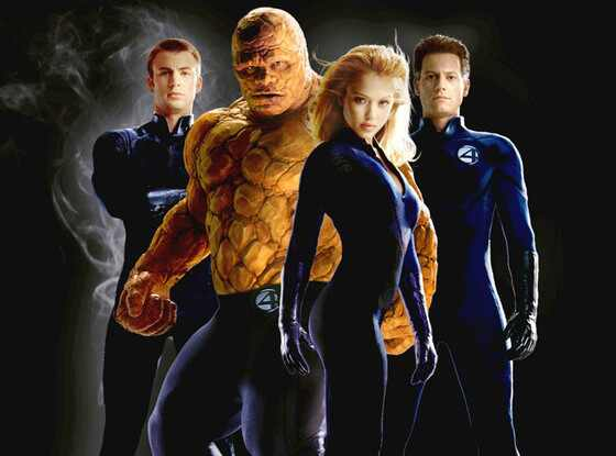 Fantastic Four, Loan Gruffudd, Jessica Alba, Chris Evans, Michael Chiklis