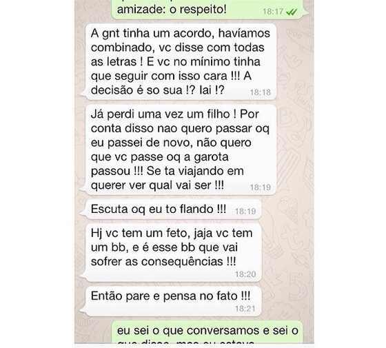 Caio Castro mensagens