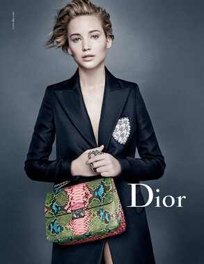Jennifer Lawrence, Miss Dior Campaign