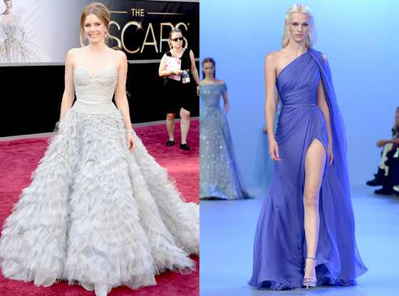 Amy Adams, Elie Saab, Oscar Gown Predictions