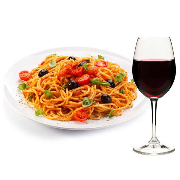 Italian Food and Wine Pairings, Spaghetti, Valpolicella
