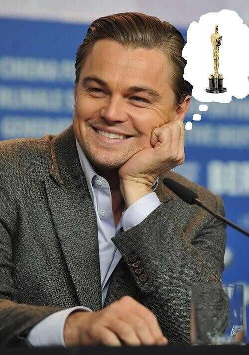 Leonardo DiCaprio meme Oscar