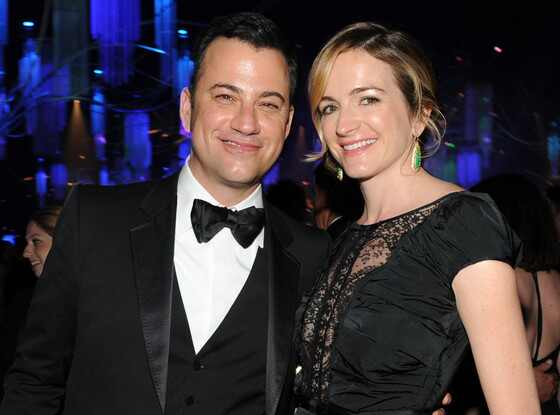 Jimmy Kimmel, Molly McNearney, Governor