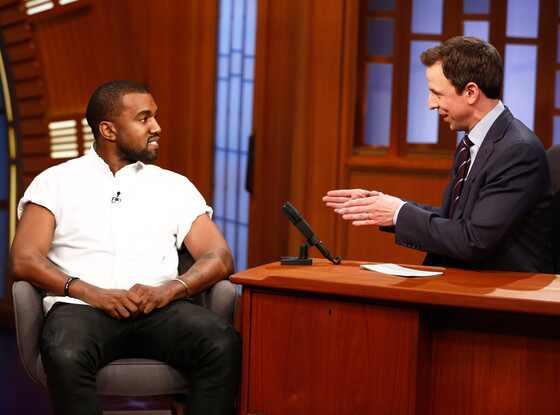Late Night With Seth Meyers, Kanye West, Seth Meyers