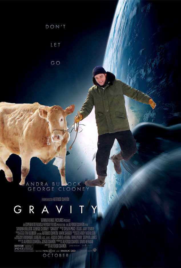 Gravity, Movie Poster, Robert Pattinson