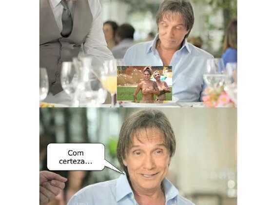 Roberto Carlos vira meme em propaganda Friboi