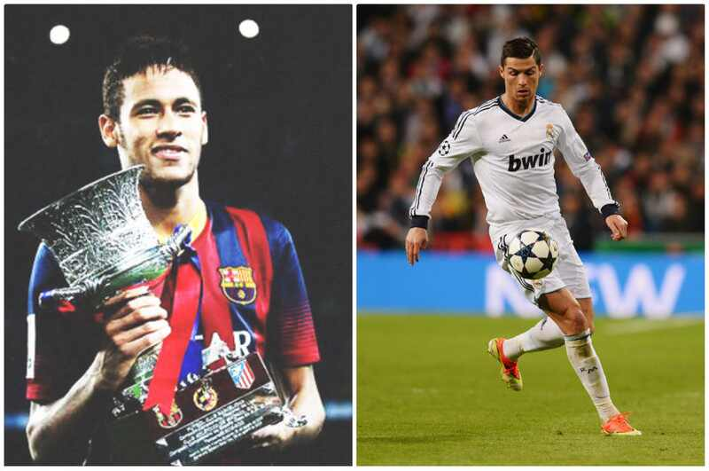 Neymar Cristiano Ronaldo fotos aniversario