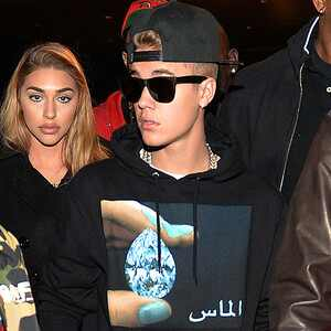 Jermain Dupri, Chantel Jeffries, Justin Bieber, Sean
