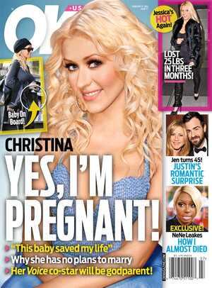 Christina Aguilera, Ok! Magazine