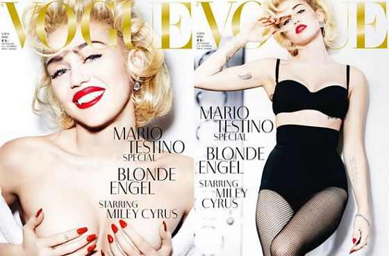 Miley Cyrus, Vogue Germany