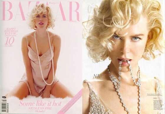 Famosas que já se inspiraram em Marilyn Monroe