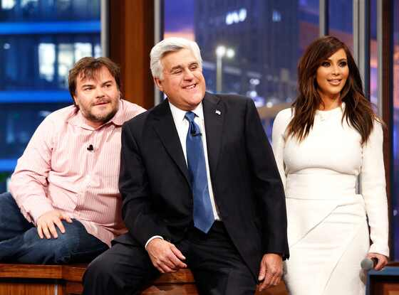 The Tonight Show with Jay Leno, Jack Black, Jay Leno, Kim Kardashian