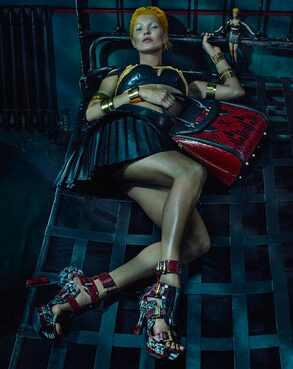 Kate Moss, Alexander McQueen