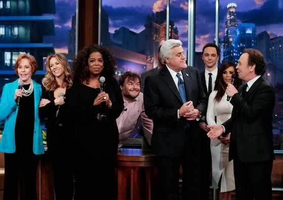 Jay Leno, Oprah Winfrey. Kim Kardashian, Billy Crystal
