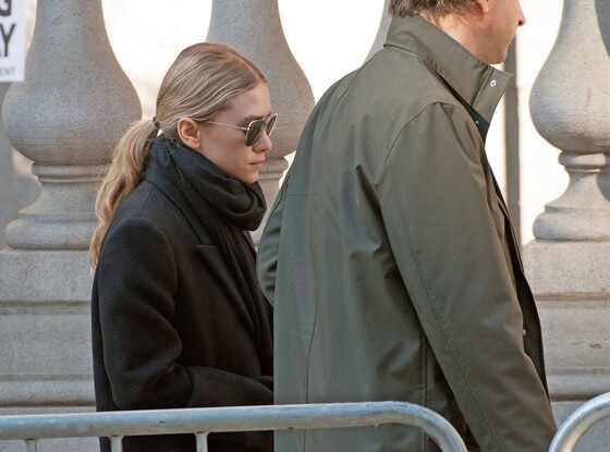 Mary-Kate Olsen, Philip Seymour Hoffman Funeral