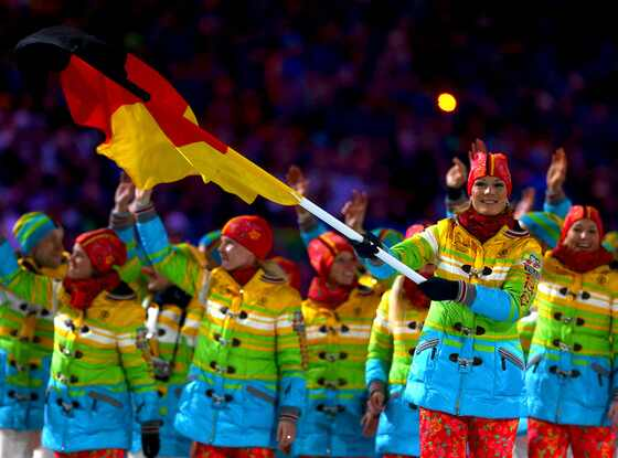Team Germany, Opening Ceremony, Olympics, Sochi