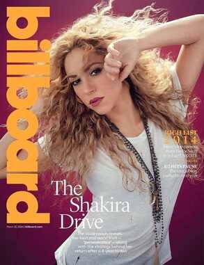Shakira, Billboard