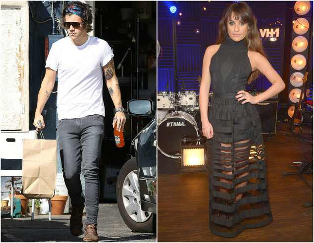 Harry Styles e Lea Michele