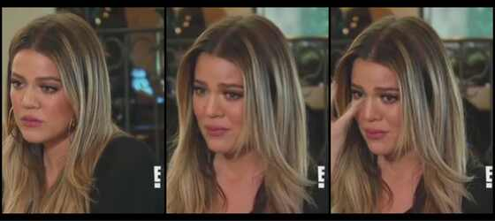 Khloé Kardashian chora reality Keeping Up with the Kardashians