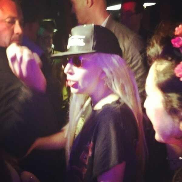 Lady Gaga fotos drogada SXSW
