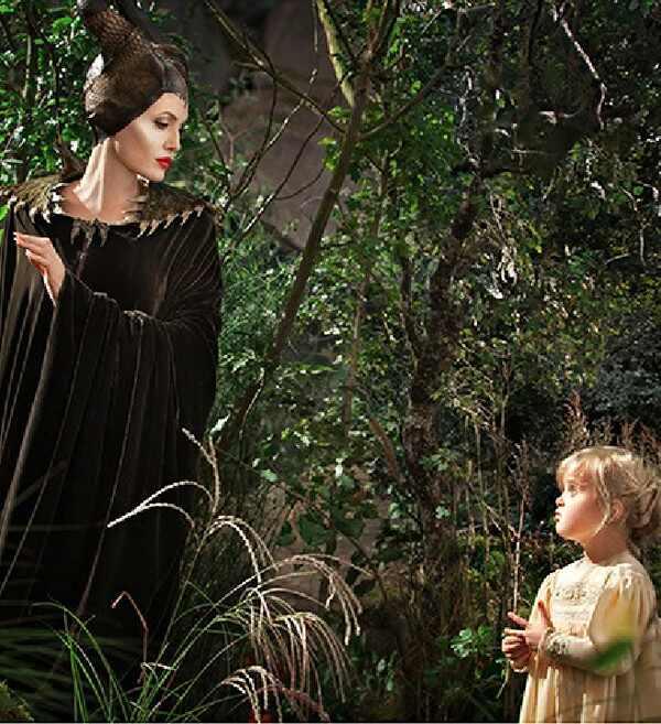 Angelina Jolie filha Vivienne Malévola