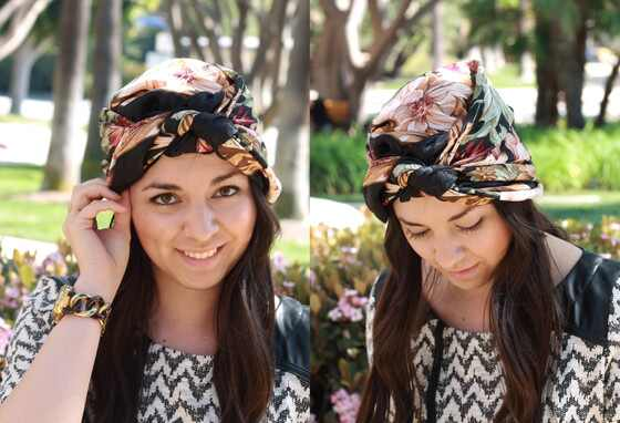 Headscarf Tutorial, The Fabulist