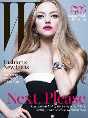 Amanda Seyfried, W Magazine