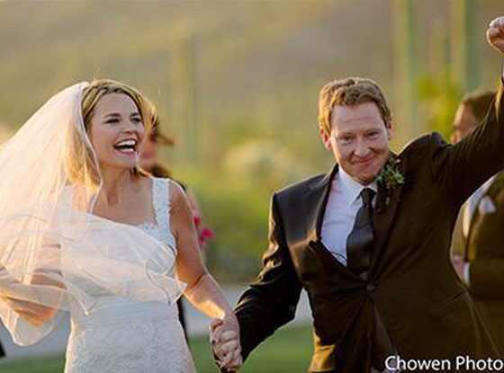 Savannah Guthrie, Wedding