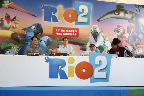 Rodrigo Santoro Carlinhos Brown Carlos Saldanha Rio